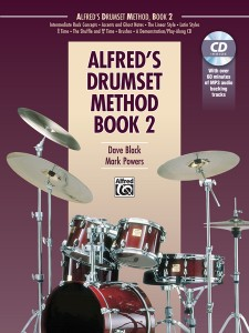 Alfred's Drumset Method Book 2 - Dave Black Mark Powers